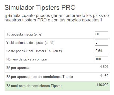 Simulador Tipsters PRO