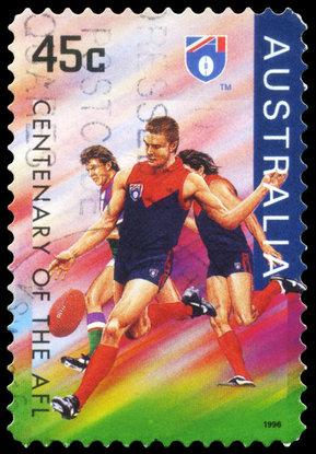 AUSTRALIA - CIRCA 1996 Melbourne Demons